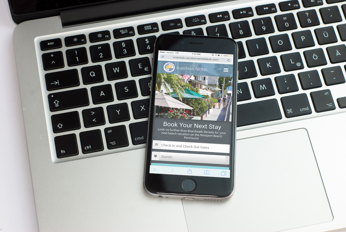 the importance of taking online bookings directly from your website the vacation rental