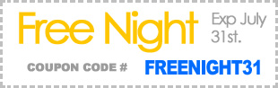 Free night coupon